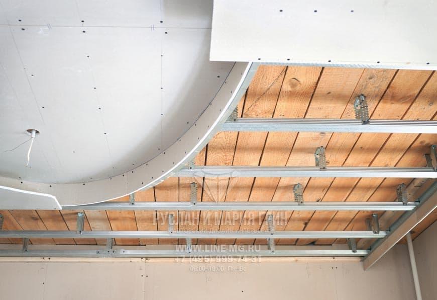 Навесные потолки своими руками фото