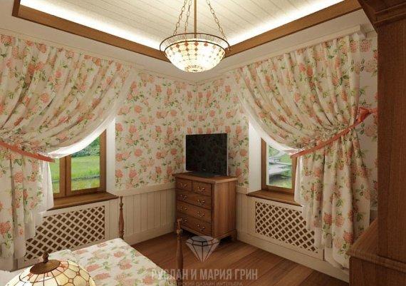 Дизайн интерьера гостевой в доме