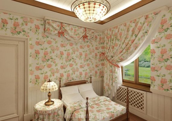 Дизайн гостевой комнаты в доме
