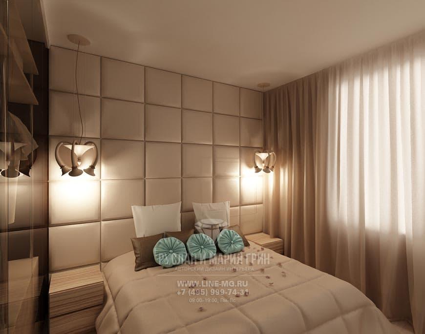 Дизайн спальни 12 кв.м в современном стиле: фото