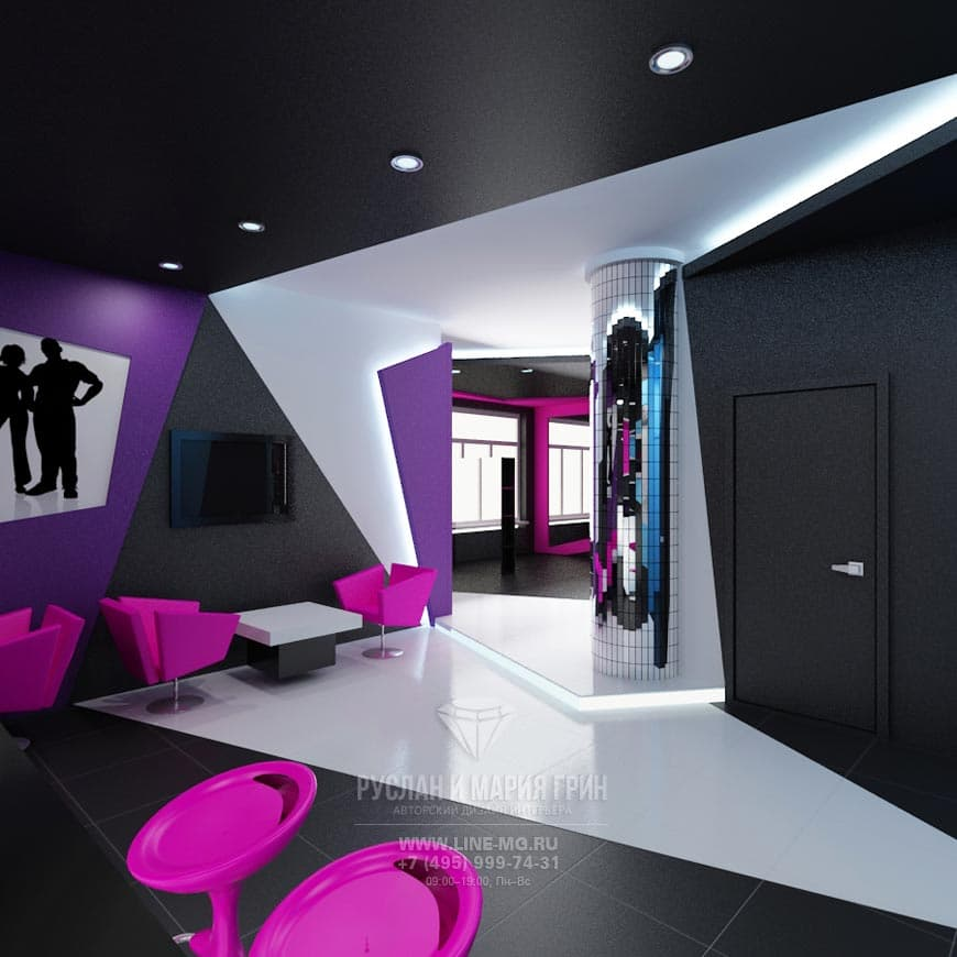 Cyberspace In The Beauty Salon Interior This Beauty Salon Interior