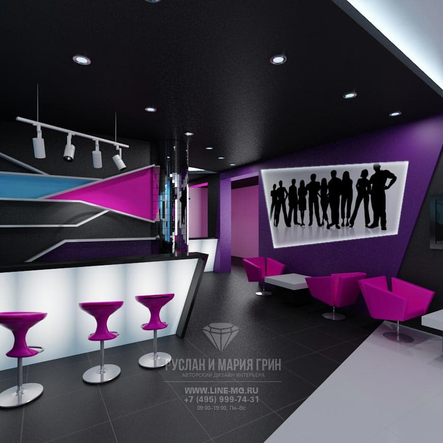 Beauty salon design photo gallery of interiors and prices for Beauty project ideas