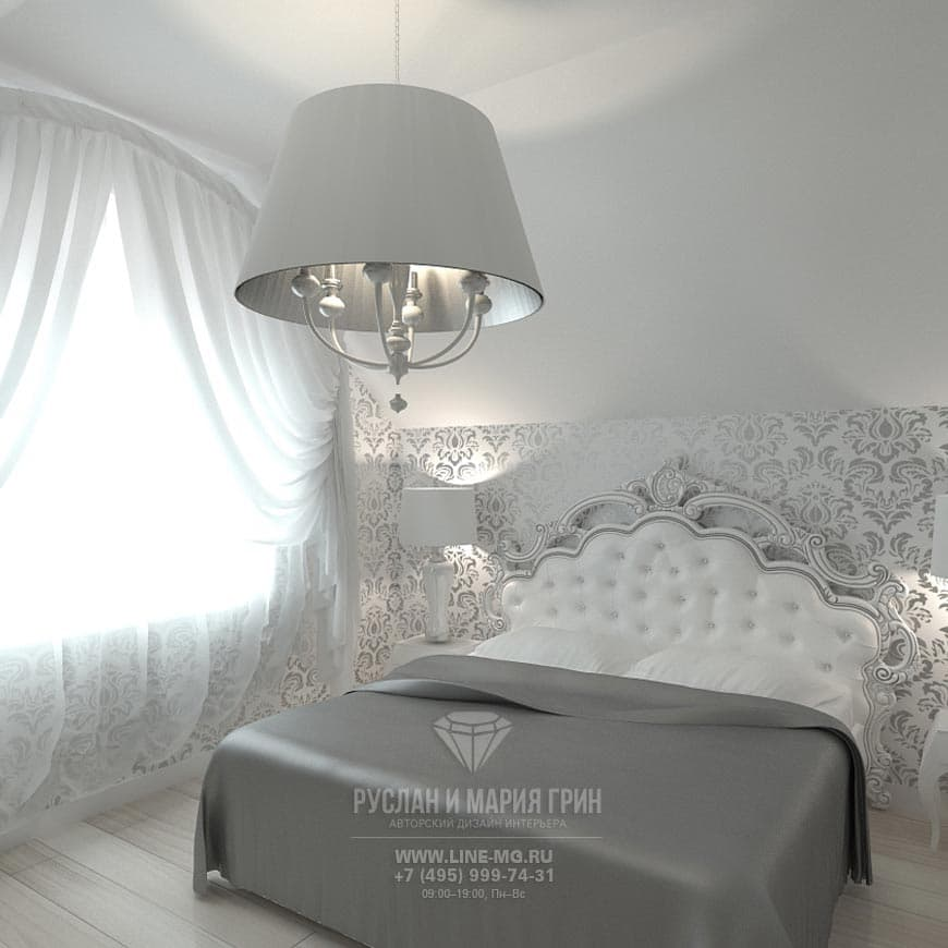 Picture of a bedroom Interior