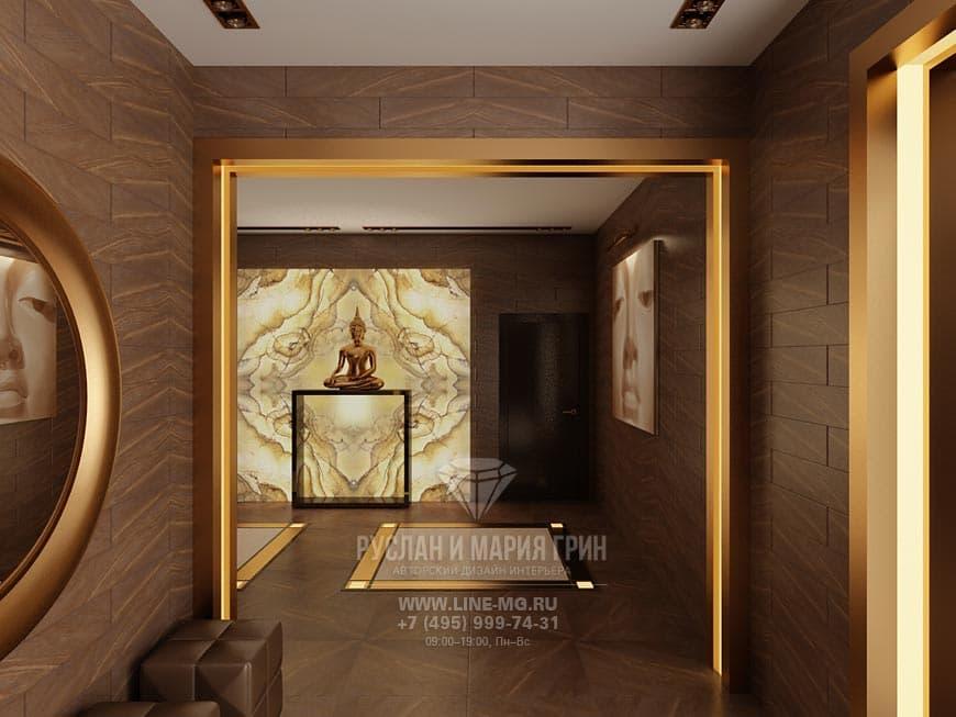 Фото интерьера мини-отеля Barkli Virgin House с элементами экостиля