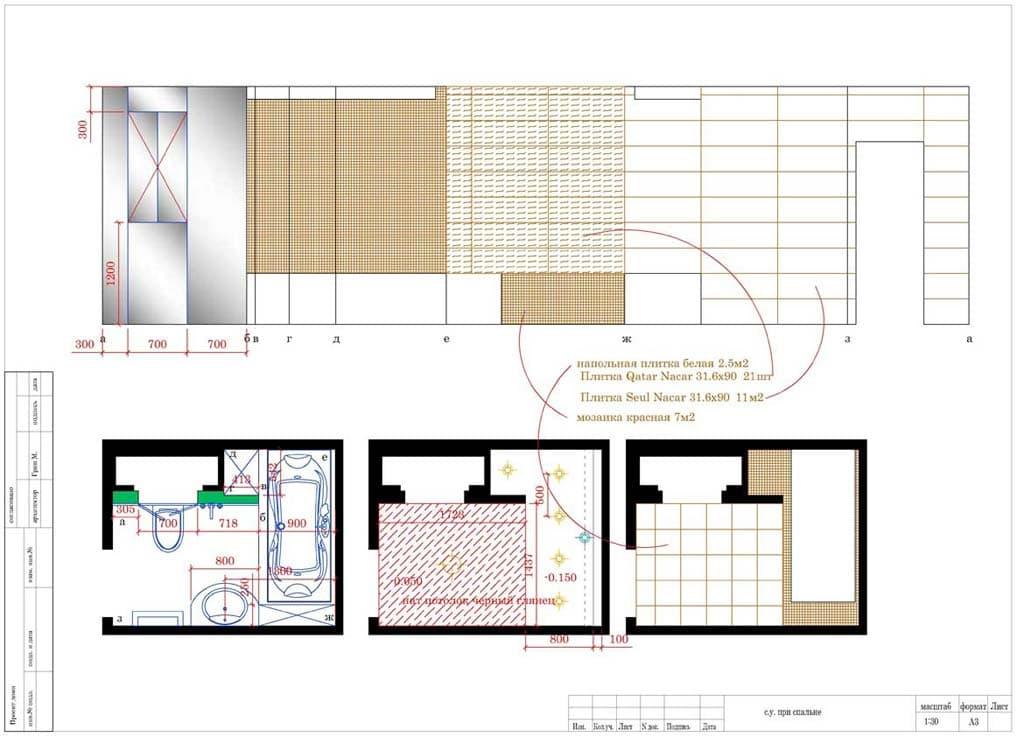 Рабочие чертежи для дизайнерского ремонта под ключ