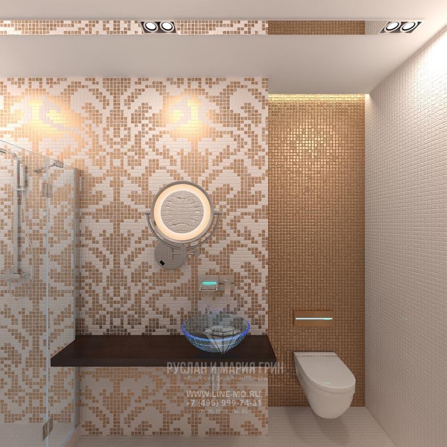 Дизайн стен ванной комнаты 2015 современные идеи