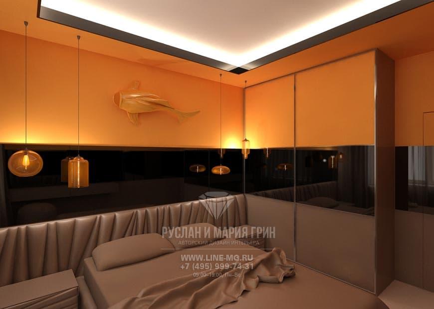 Дизайн современной спальни: фото