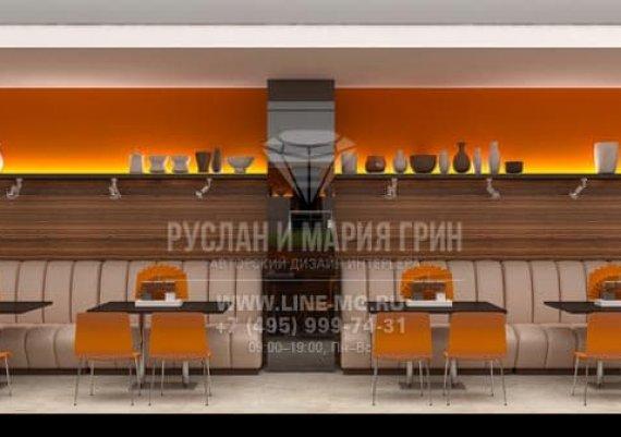 Дизайн-проект общественного интерьера столовой