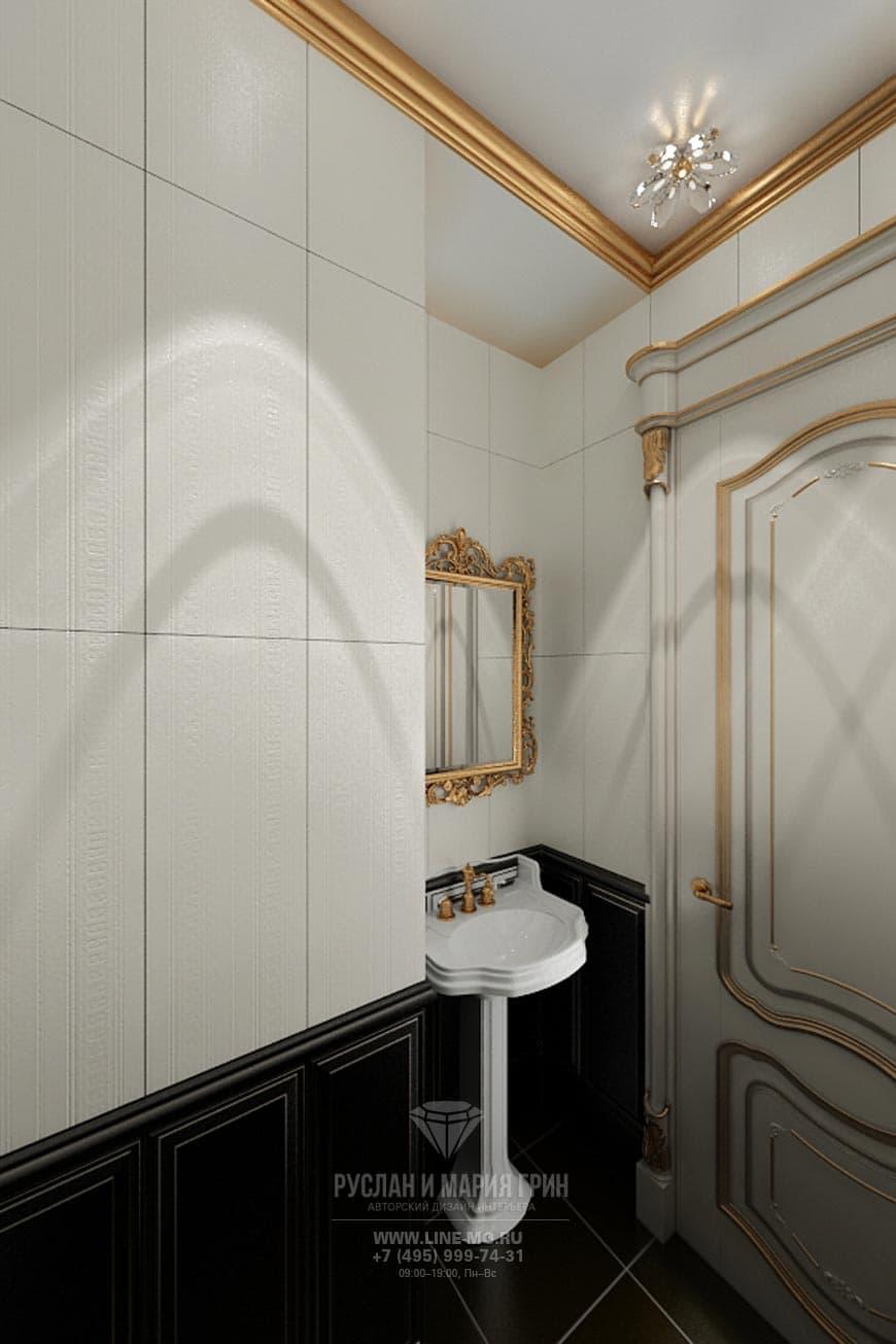 Дизайн квартиры в стиле рококо