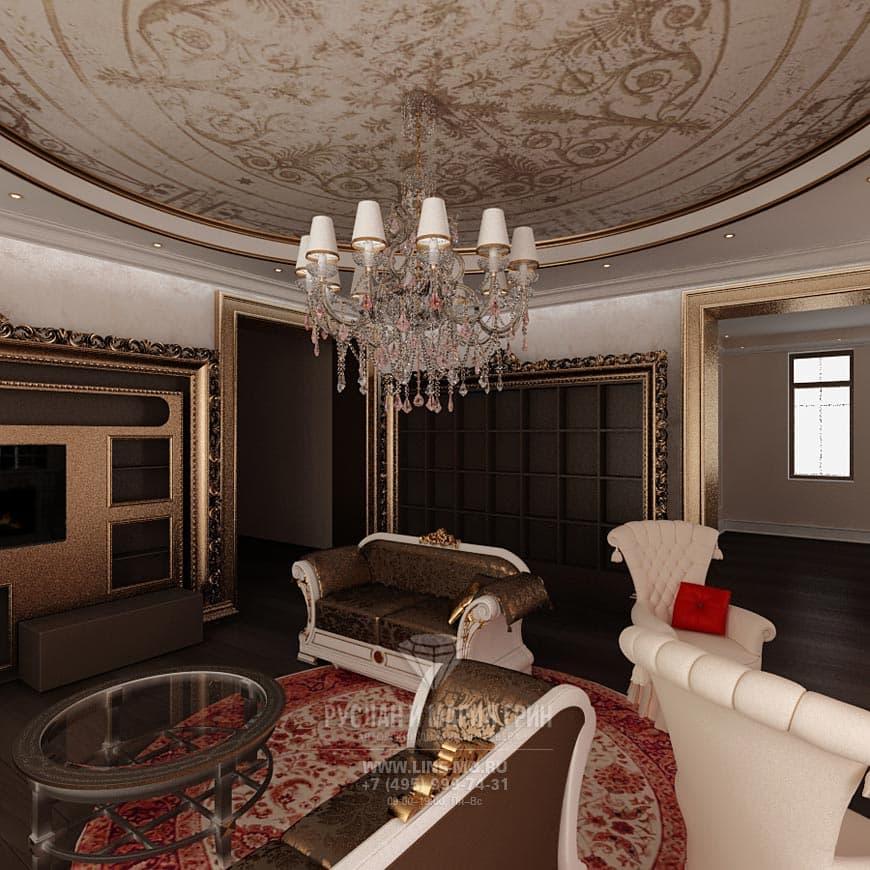 Дизайн гостиной с камином. Современные идеи и фото