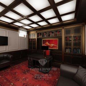Дизайн интерьера кабинета. Современные идеи