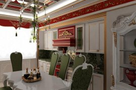 """Interior Design of an Apartment in the Residential Complex """"Well House"""""""