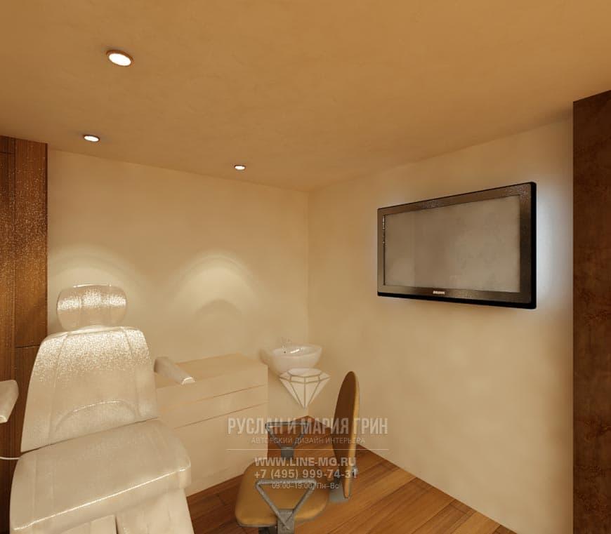 Spa Salon Interior Design With Elements Of Art Nouveau And Art Deco