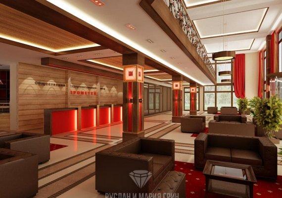 Современные идеи 2015 года: дизайн мини-отеля Прометей