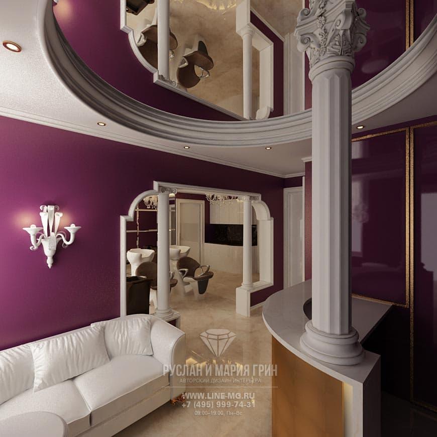 Арт дизайн салонов красоты