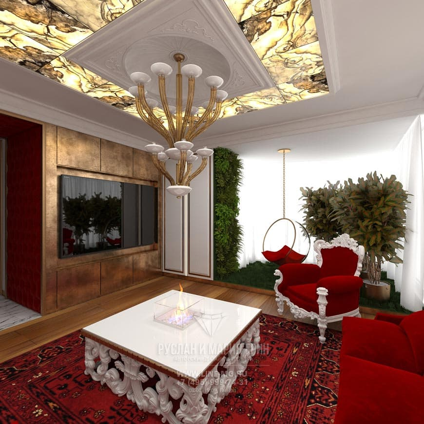 Современные идеи дизайна гостиной в квартире: фото