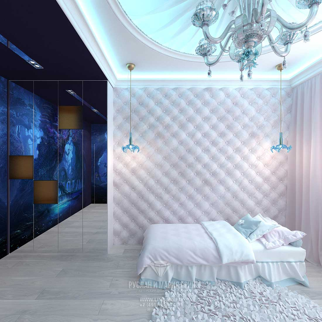 Design a child's room for a girl. Modern ideas. New Releases 2015
