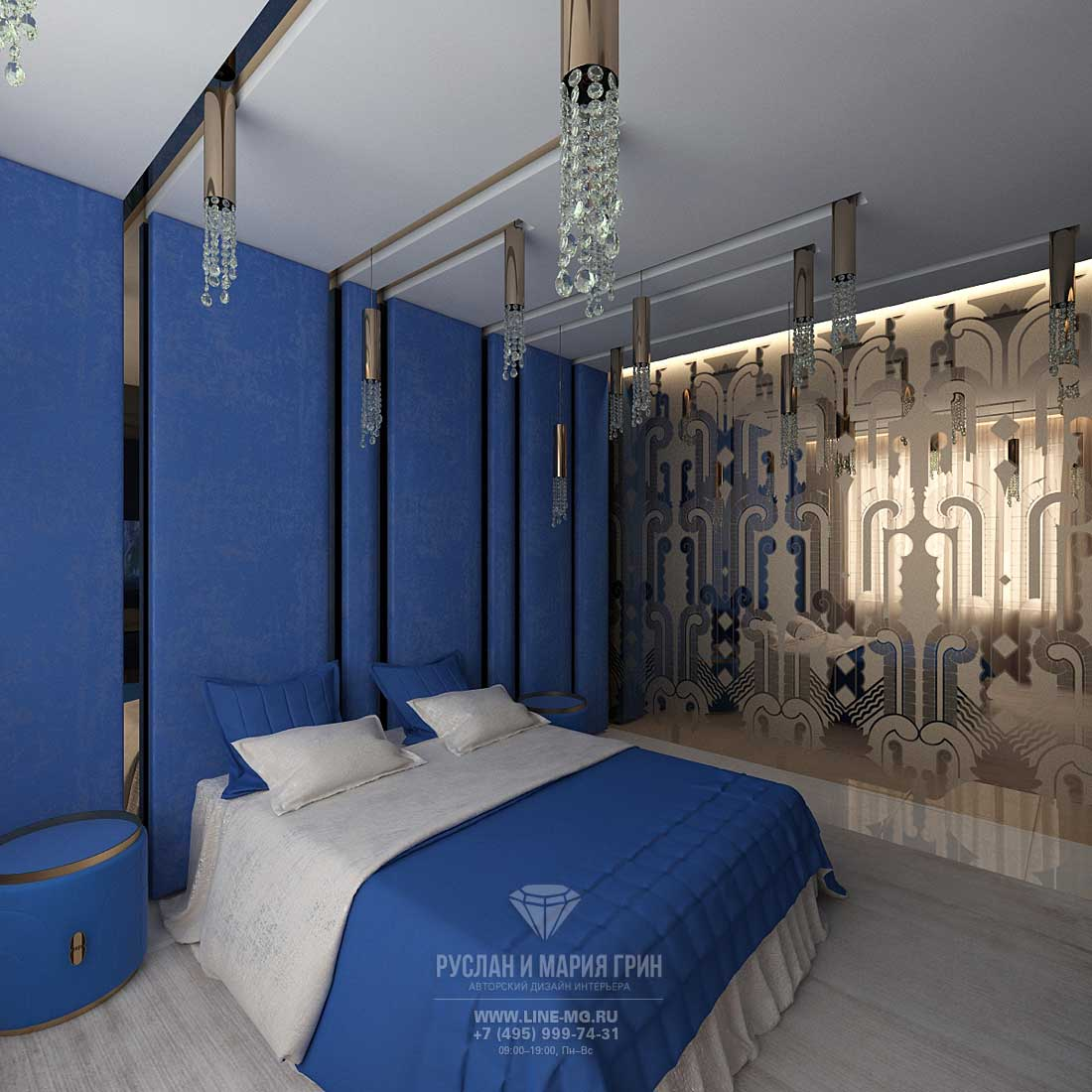 Photo novelty 2015. Design living room bedroom in the house