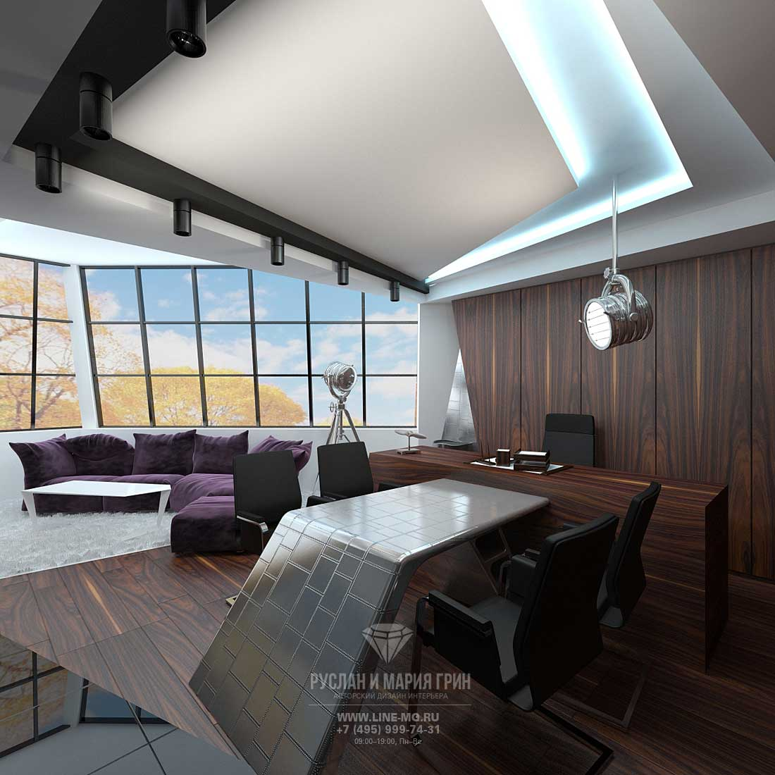 Office design for a young manager for Indoor design