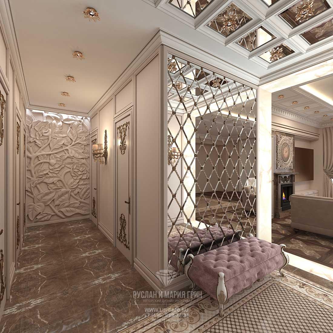 modern art nouveau hallway design ideas