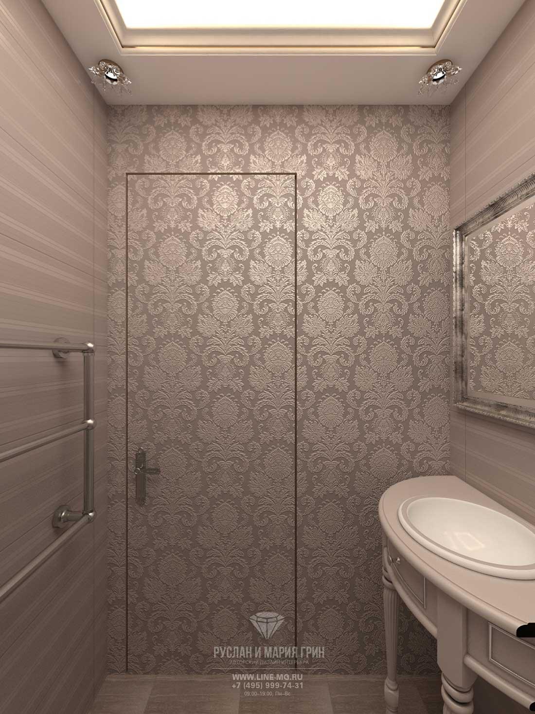 Дизайн санузла. Квартира в ЖК «Сколково Парк»