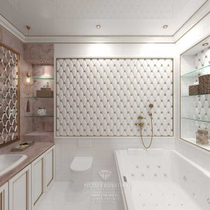 Дизайн санузла спальни. Квартира в ЖК «Сколково Парк»