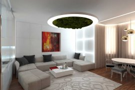 3-room apartment design for a young man