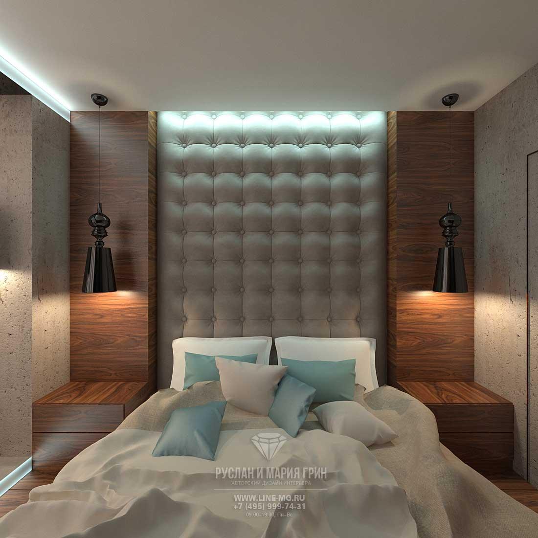 Дизайн современной спальни. Фото 2016