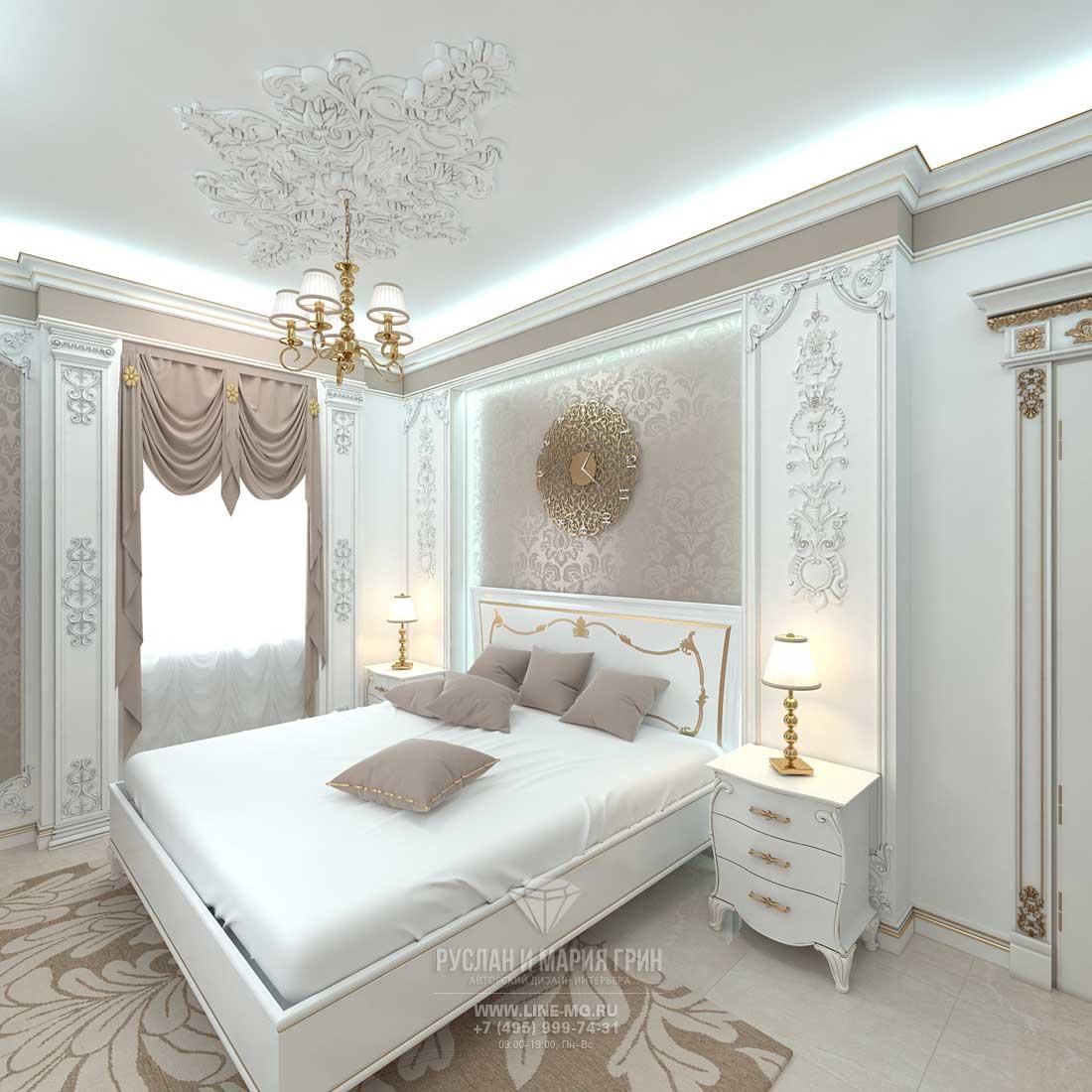Дизайн спальни фото 2016 классика