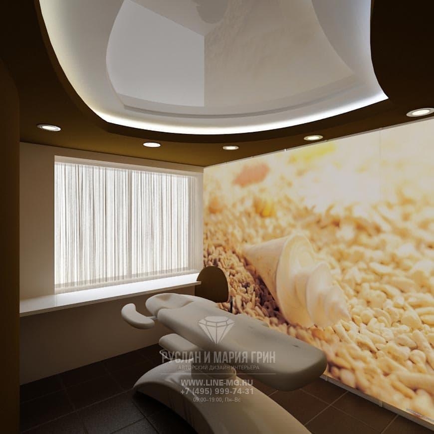 Дизайн салона красоты с фотообоями