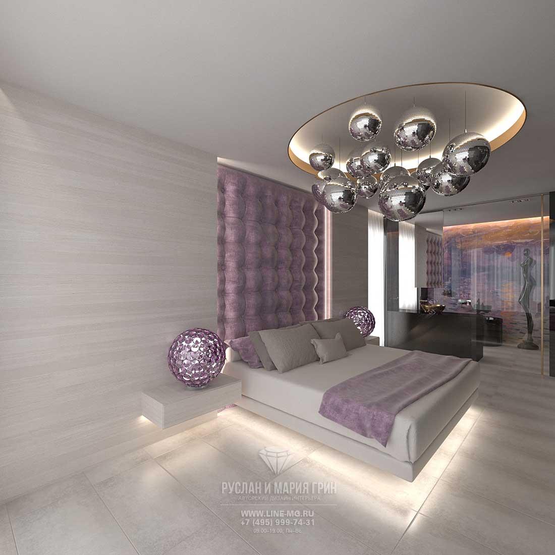 Дизайн спальни с ванной в доме: фото 2016