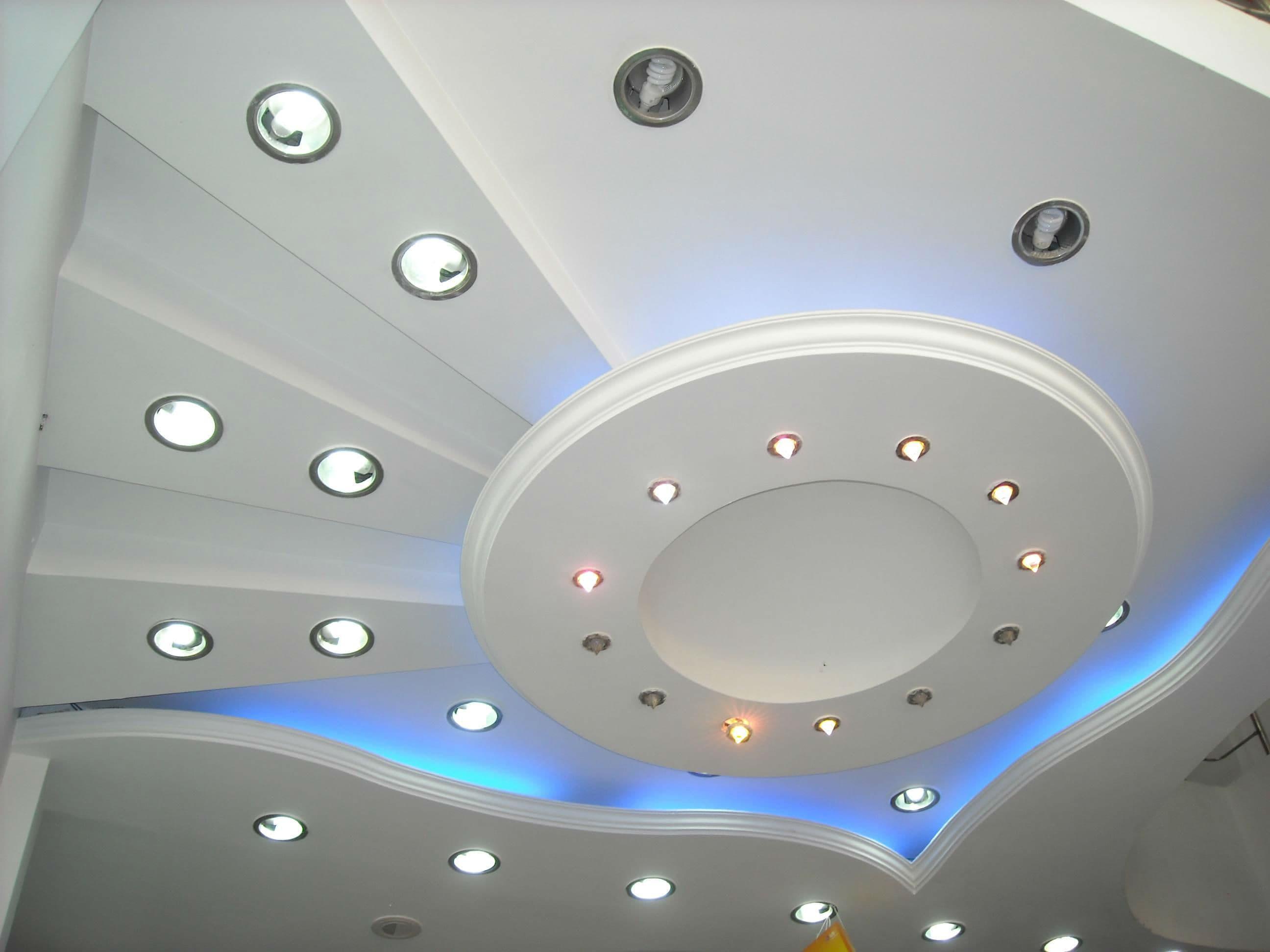 Дизайн подвесного потолка: фото