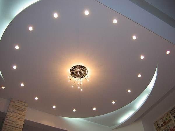 Подвесной потолок в дизайне квартиры