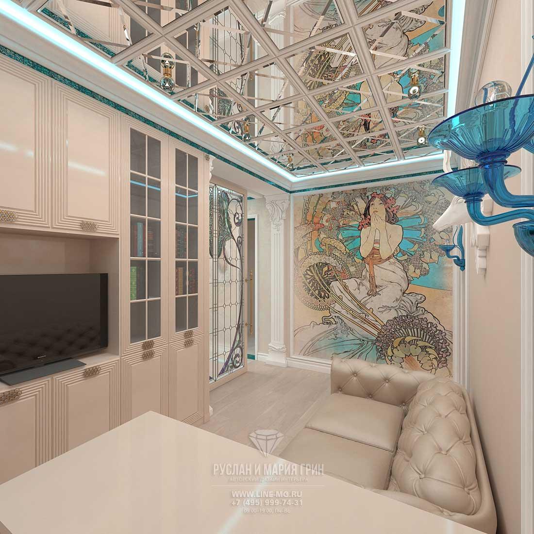 Дизайн интерьера кабинета: фото