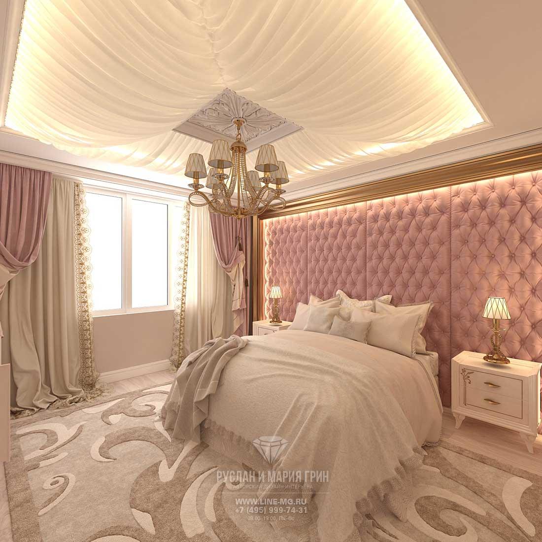 Интерьер спальни. Фото 2016