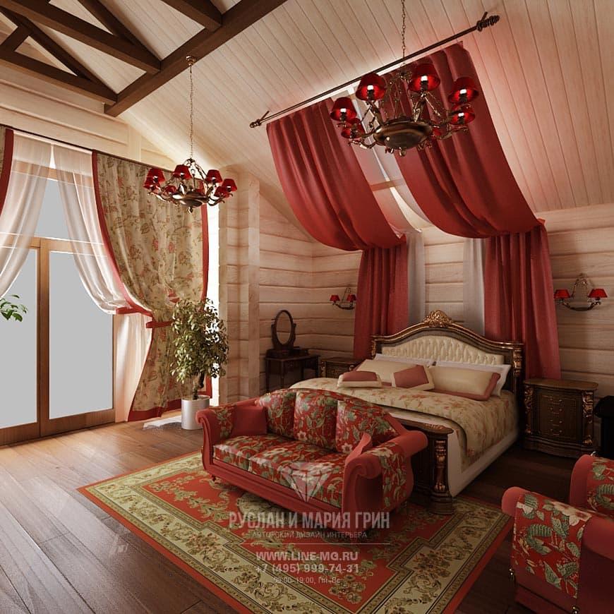 Дизайн дома в деревенском стиле