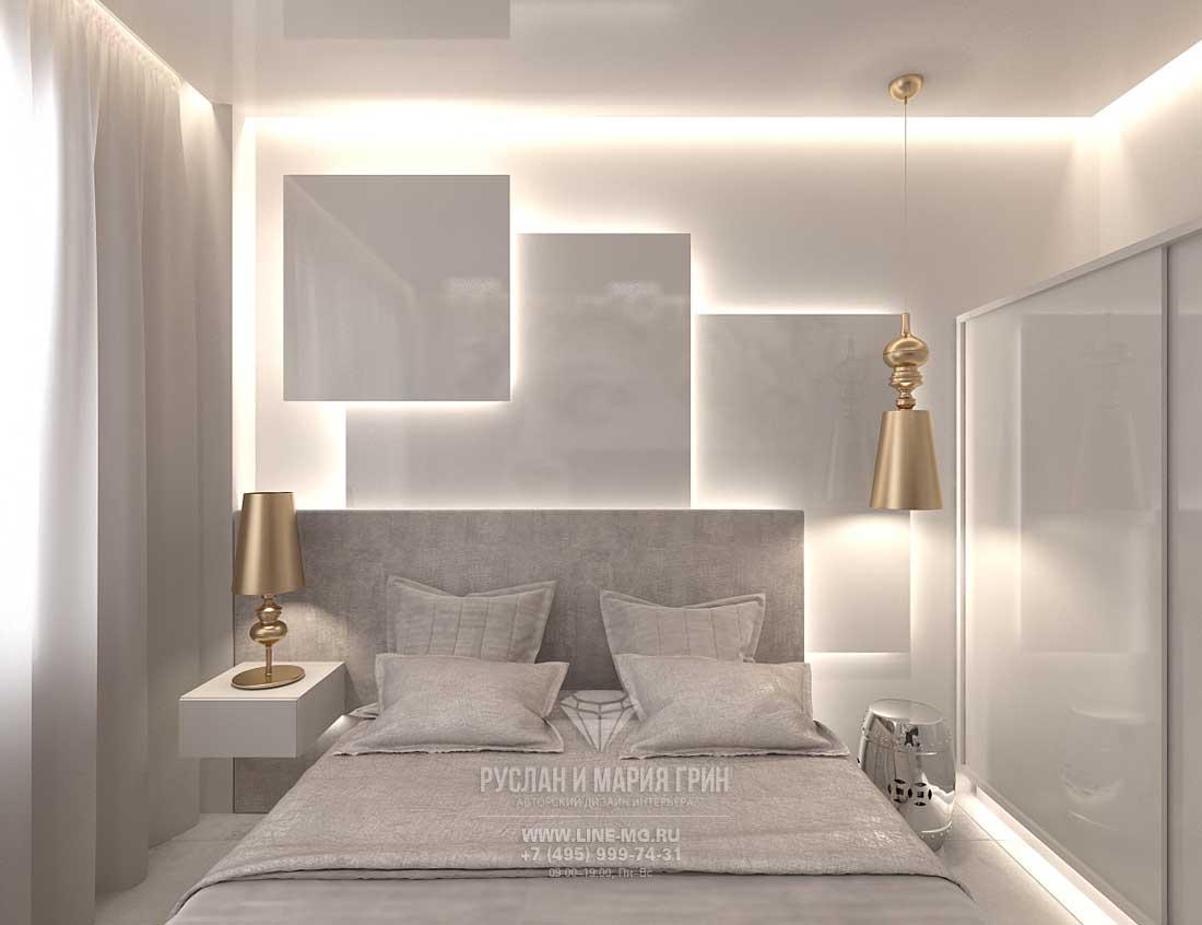 Дизайн гостевой спальни в загородном доме в Испании