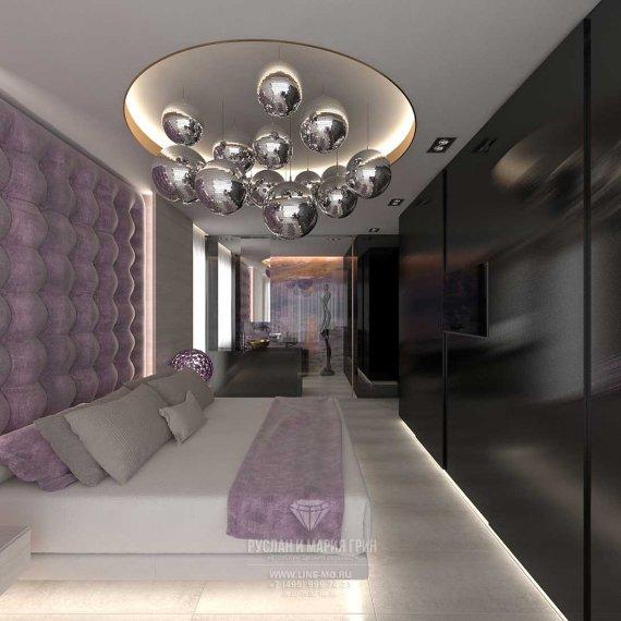 Дизайн спальни 15 кв. м в современном стиле: фото 2016