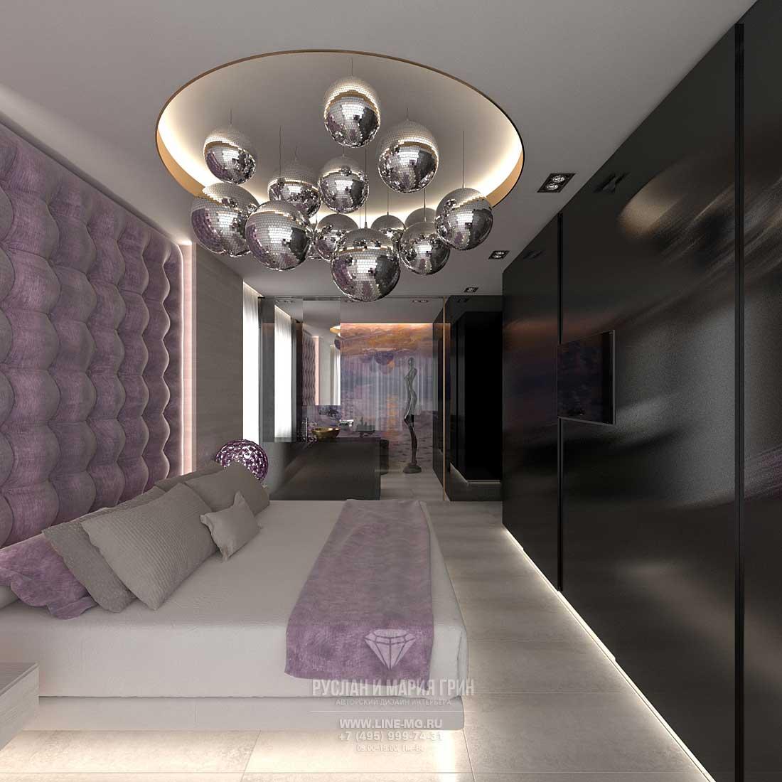 Красивые дома. Дизайн спальни. Фото