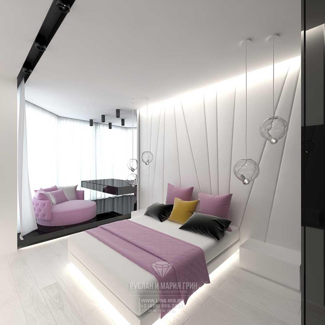 Дизайн спальни с 2017 современные идеи