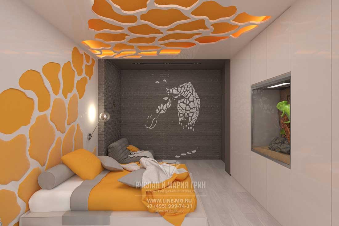 Дизайн детской комнаты в доме