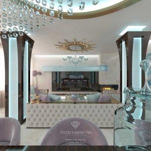Дизайн гостиной в доме