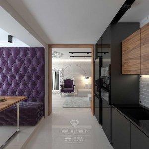 Дизайн кухни в современной квартире