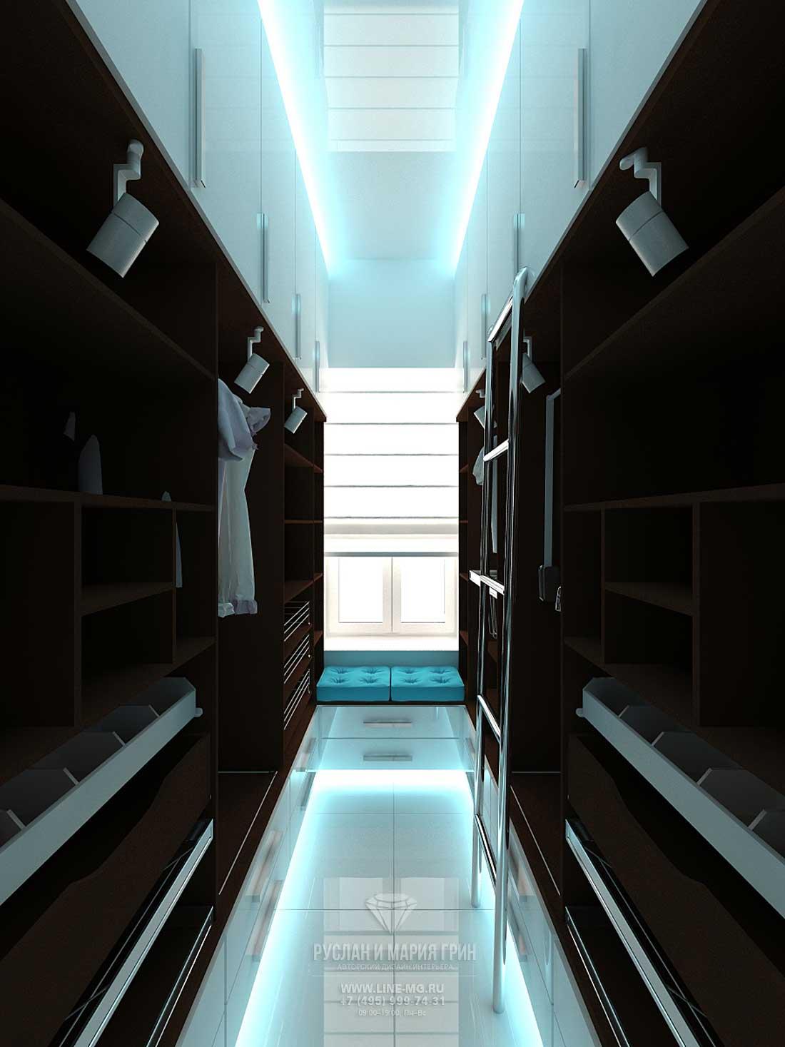 Дизайн интерьера красивой квартиры в москве
