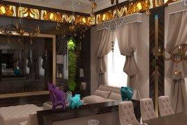 Дизайн интерьера квартиры в центре Москвы