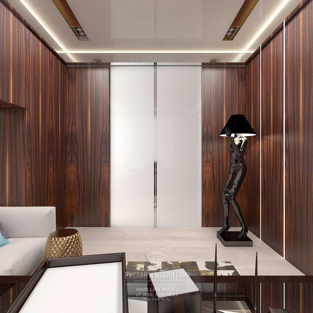 Дизайн кабинета в квартире. Фото 2016