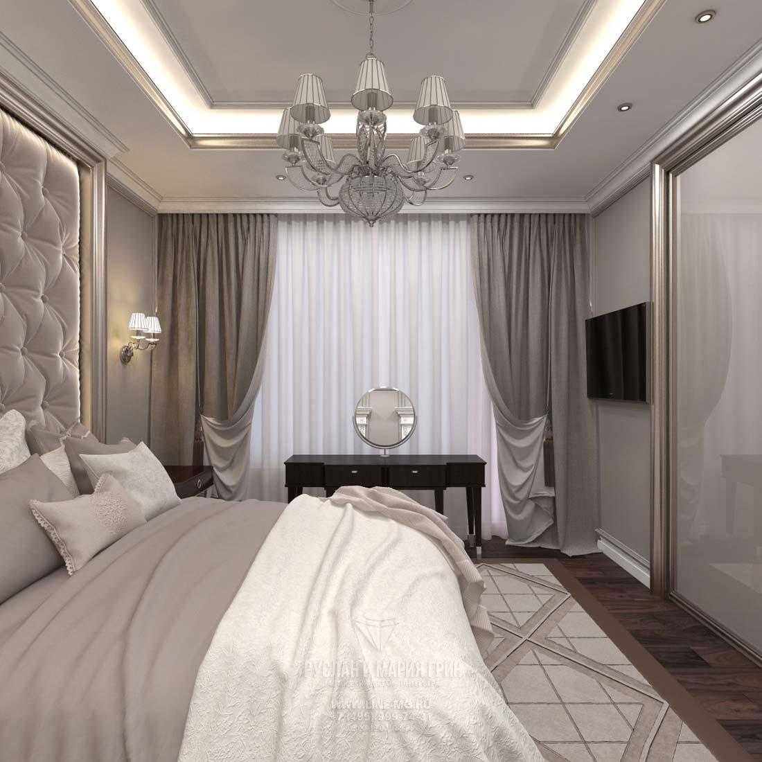 Дизайн современной спальни, фото 2016