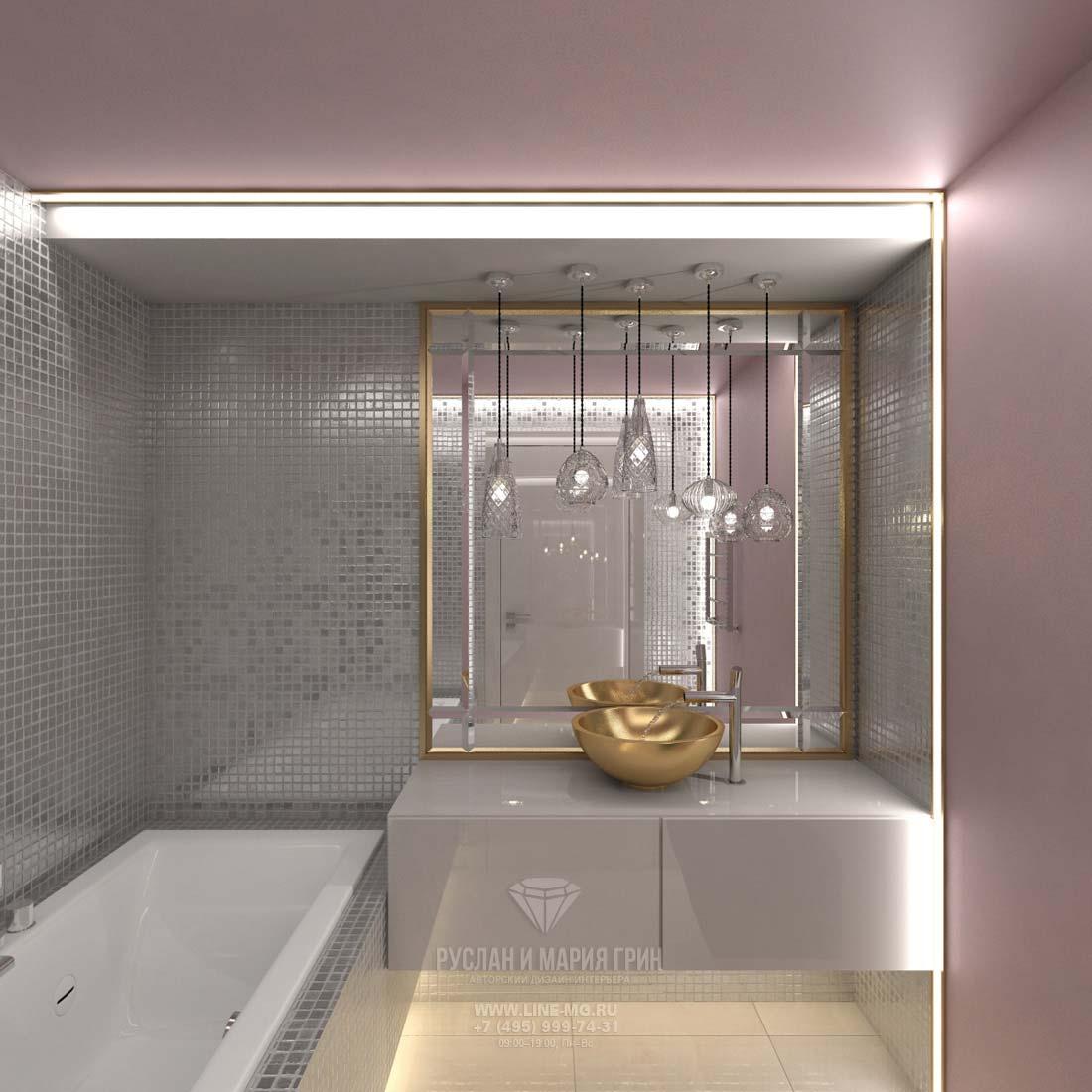Дизайн современного санузла: фото