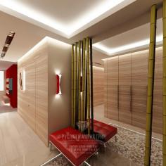 Дизайн интерьера прихожей в эко стиле