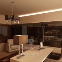 Дизайн интерьера кабинета в загородном доме